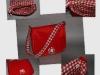 Meisjes tas rood